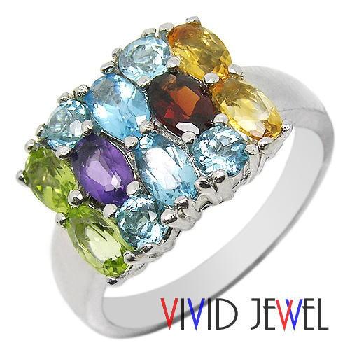 レインボージュエリー リング(指輪) パワーストーン・天然石
