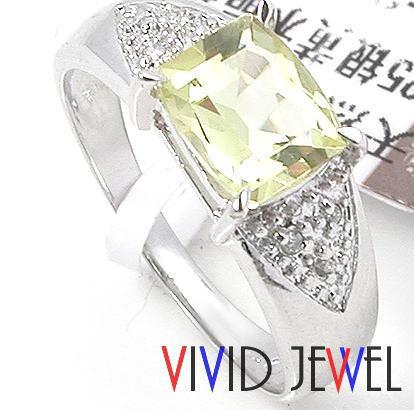 レモンクォーツ リング(指輪) パワーストーン・天然石